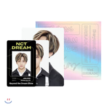 [JISUNG] NCT DREAM Beyond LIVE Beyond the Dream Show ID카드+응원봉데코스티커SET