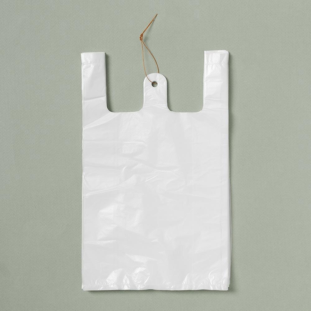 200p 비닐봉투(흰색-2호)/위생봉투 마트봉지 비닐봉지
