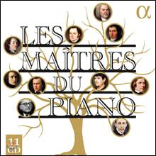 알파 레이블 피아노 명반 모음집 (Les Maitres du Piano)