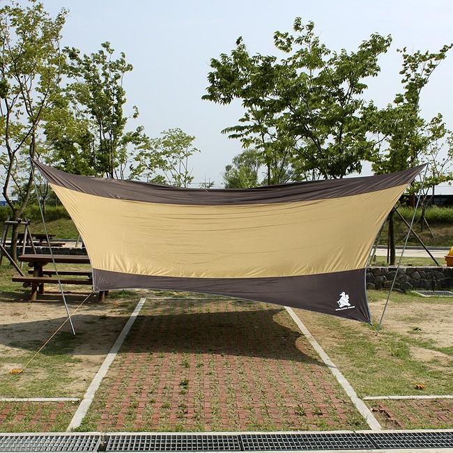 5M 캠핑용 헥사타프 그늘막텐트 캠핑용품