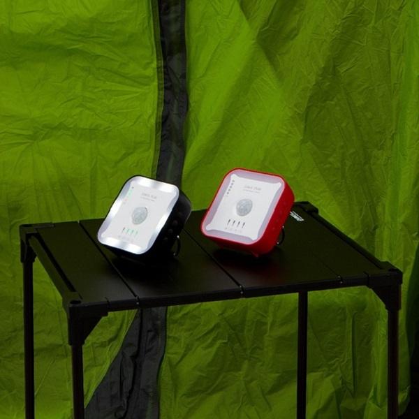 스마트 캠핑가드 캠지 플러스/일산화탄소 감지기/침입감지/온습도/LED 안전등/앱연동