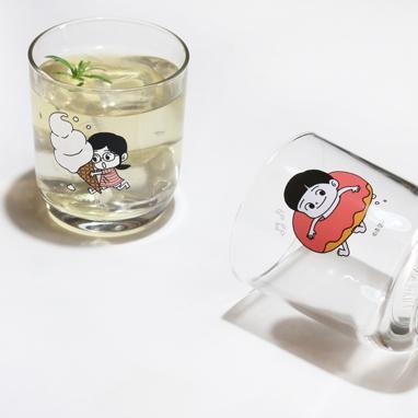 은영이/준영이 유리컵
