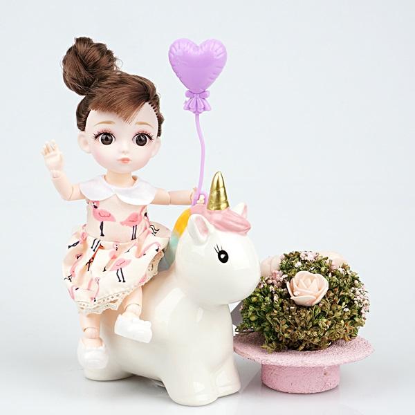 레츠토이 젤레나 16CM 미니 구체관절인형 여아 장난감 선물