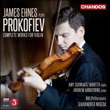 James Ehnes 프로코피예프: 바이올린을 위한 작품 전곡집 - 제임스 에네스 (Prokofiev: Complete Works for Violin)