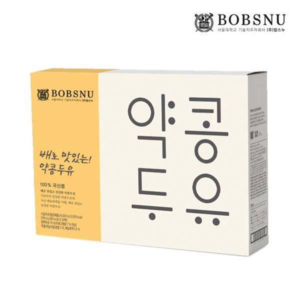 서울대 공동개발 배로 맛있는 약콩두유 190ml (24팩)