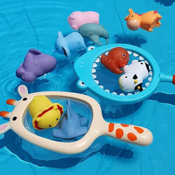 레츠토이 낚시 뜰채  유아 목욕놀이 물놀이 장난감