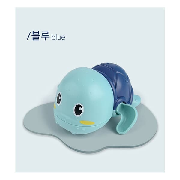 레츠토이 수영하는 거북이 삼총사 유아 목욕놀이 물놀이 장난감