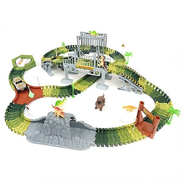 레츠토이 다이노파크 공룡 테마파크 트랙 만들기 미니카 레일장난감