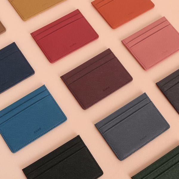 [쿠폰가: 10,200원] D.LAB Leather simple card wallet - 13 color