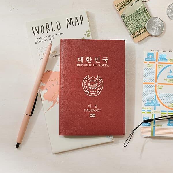 윤동주 시인이 사랑한 단어들,  문학 여권케이스 5종