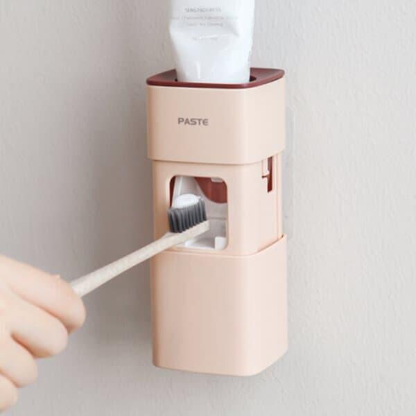 봉봉 치약디스펜서 자동 치약짜개 욕실용품  4colors