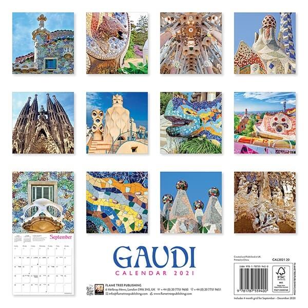 2021년 캘린더(FT) Gaudi