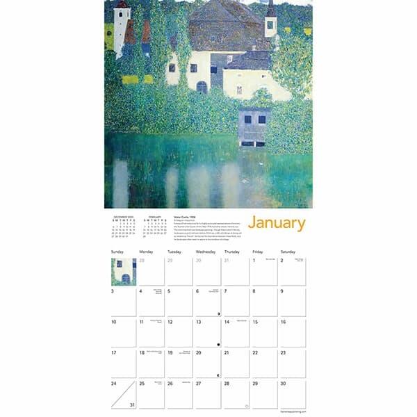 2021년 캘린더(FT) Klimt Landscapes