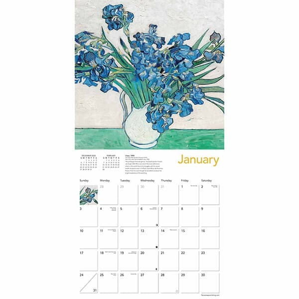 2021년 캘린더(FT) Vincent Van Gogh
