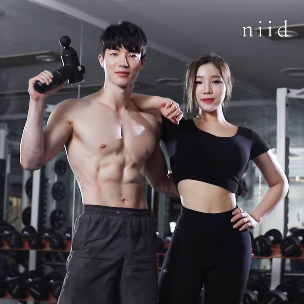 니드 마사지건 NIID1 근육 근막 이완 진동안마기 마사지기