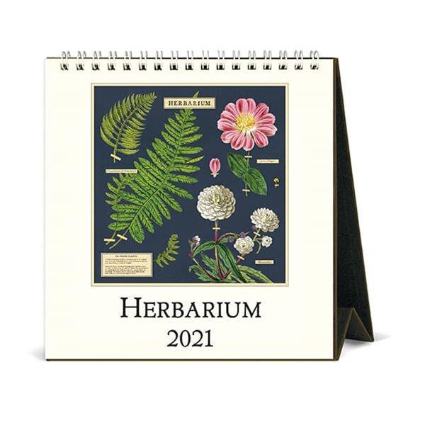 2021년 데스크캘린더 Herbarium
