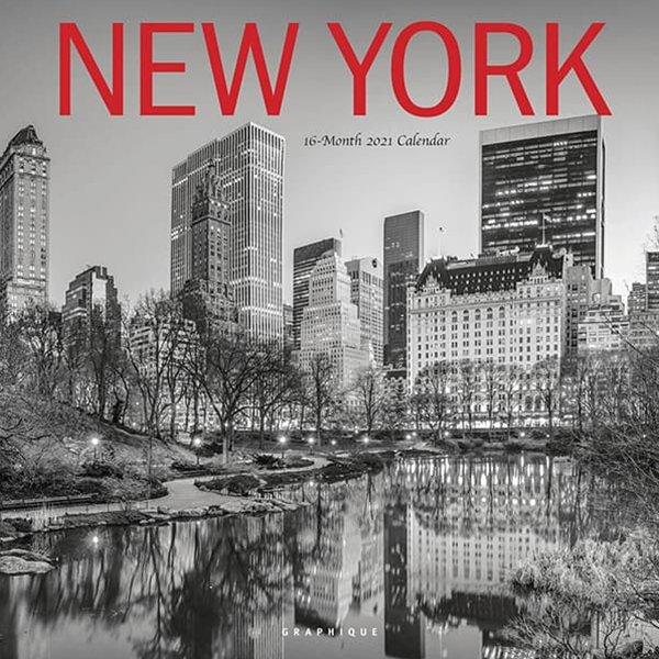 2021년 캘린더 뉴욕