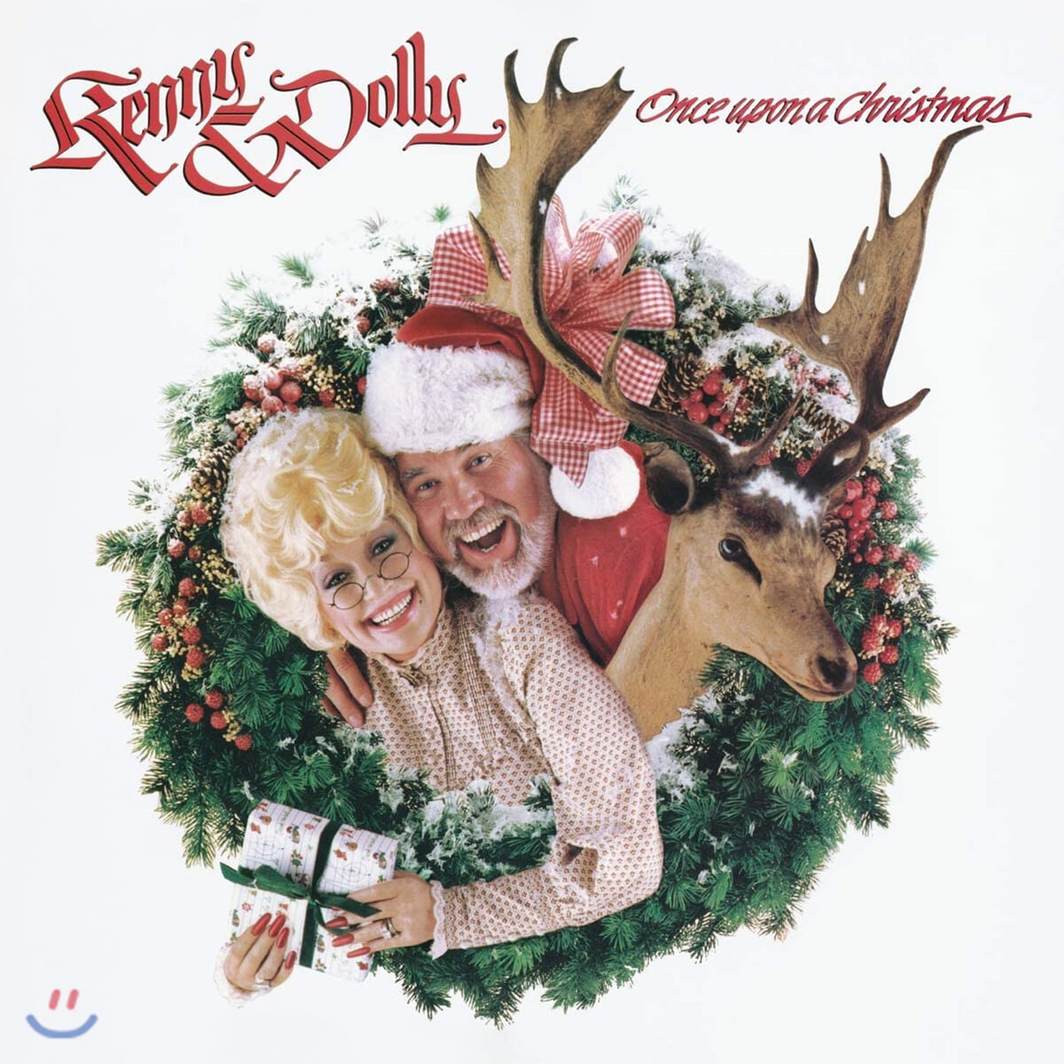 Dolly Parton / Kenny Rogers (돌리 파튼, 케니 로져스) - Once Upon A Christmas [LP]