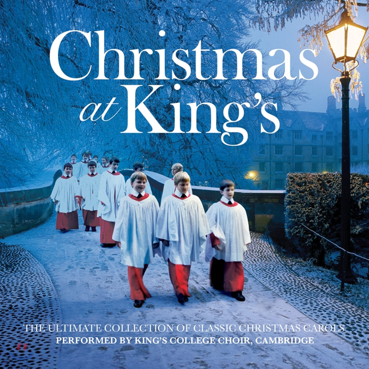 King's College Choir of Cambridge 킹스 칼리지의 성탄음악 (Christmas at King's) [화이트 컬러 LP]