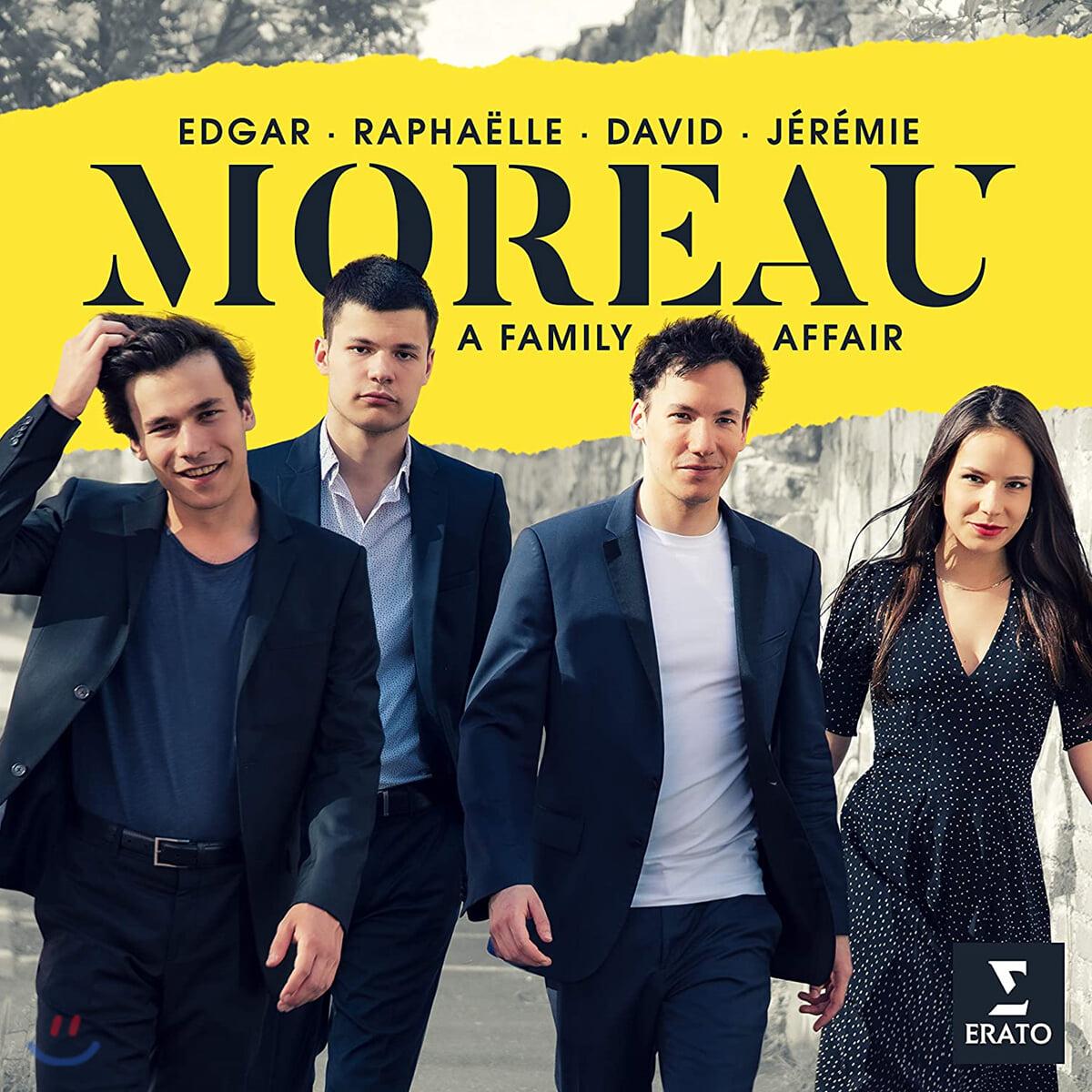 Edgar Moreau 드보르작: 바가텔 Op.47 / 코른골트: 모음곡 Op.23 (Moreau - A Family Affair)