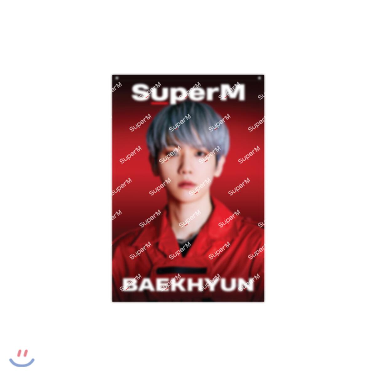 [BAEKHYUN] SuperM SuperOne AR패브릭포스터