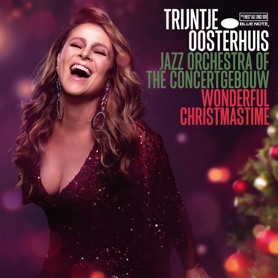 Trijntje Oosterhuis / Jazz Orchestra Of The Concertgebouw (트레인티어 오스테르하위스) - Wonderful Christmastime [골드 컬러 LP]
