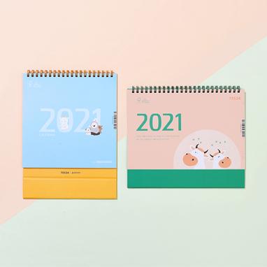 2021 YES24 북/동물 캘린더