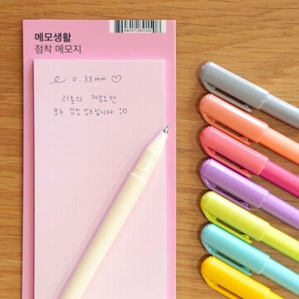 리훈 이야기 초저점도펜 검정심 0.38mm(이야기다이어리 세트 구성 펜)