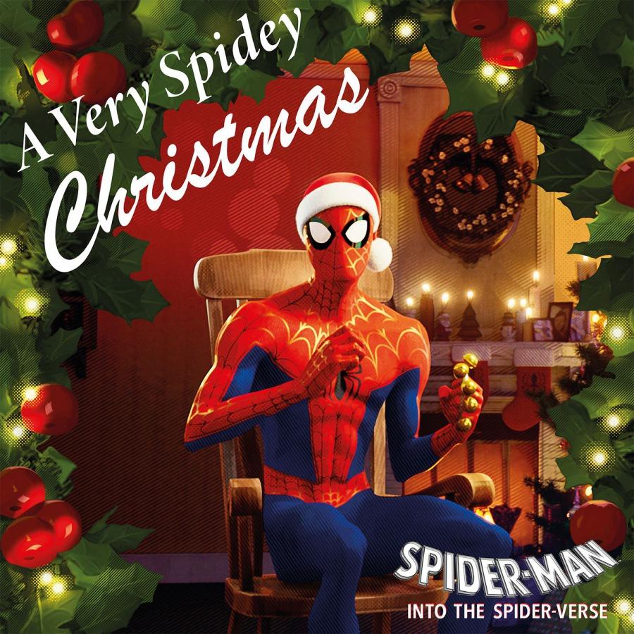 스파이더맨: 뉴 유니버스 캐럴 앨범 (A Very Spidey Christmas) [10인치 화이트 컬러 Vinyl]