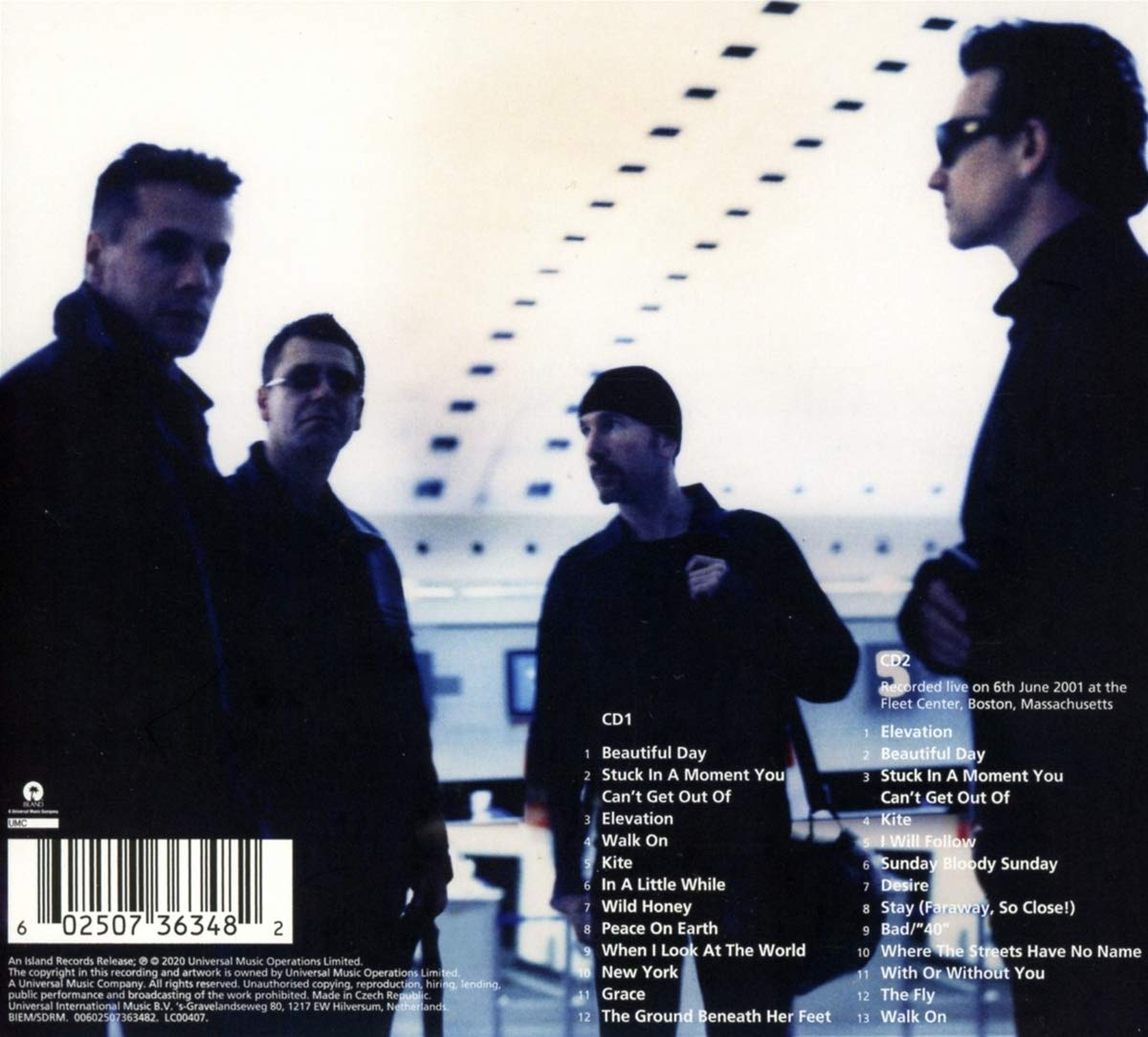 U2 (유투) - 10집 All That You Can't Leave Behind