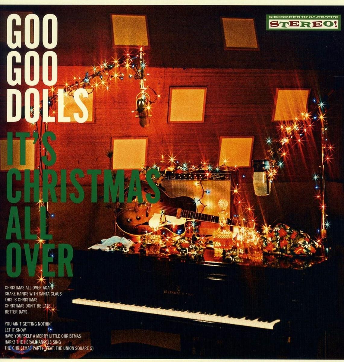 Goo Goo Dolls (구 구 돌스) - It's Christmas All Over [LP]