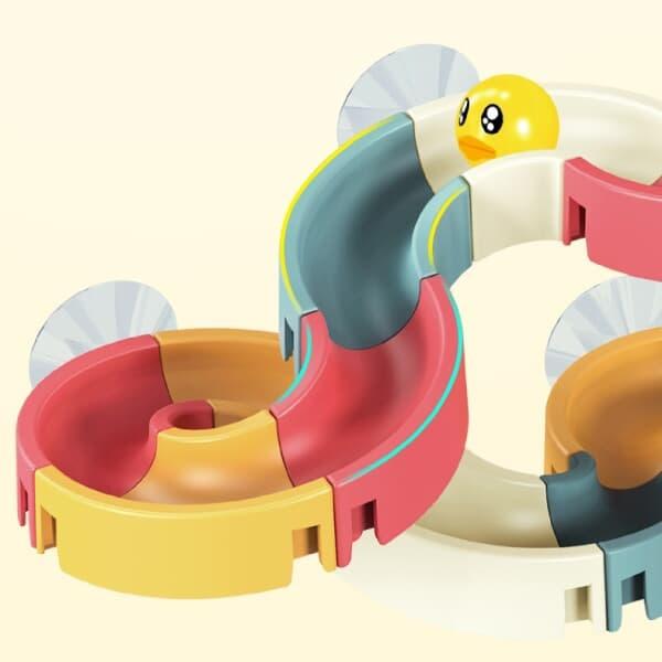 레츠토이 워터슬라이드 아기 유아 diy 물놀이 목욕놀이 트랙 레일 블록 장난감