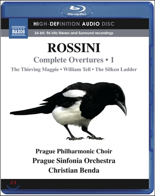 Christian Benda 로시니: 서곡 1집 - 도둑까치, 윌리엄 텔, 비단 사다리 (Rossini: Complete Overtures, Vol. 1)