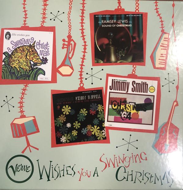 버브 레이블 재즈 캐럴 음반 모음집 (Verve Wishes You A Swinging Christmas) [4LP]