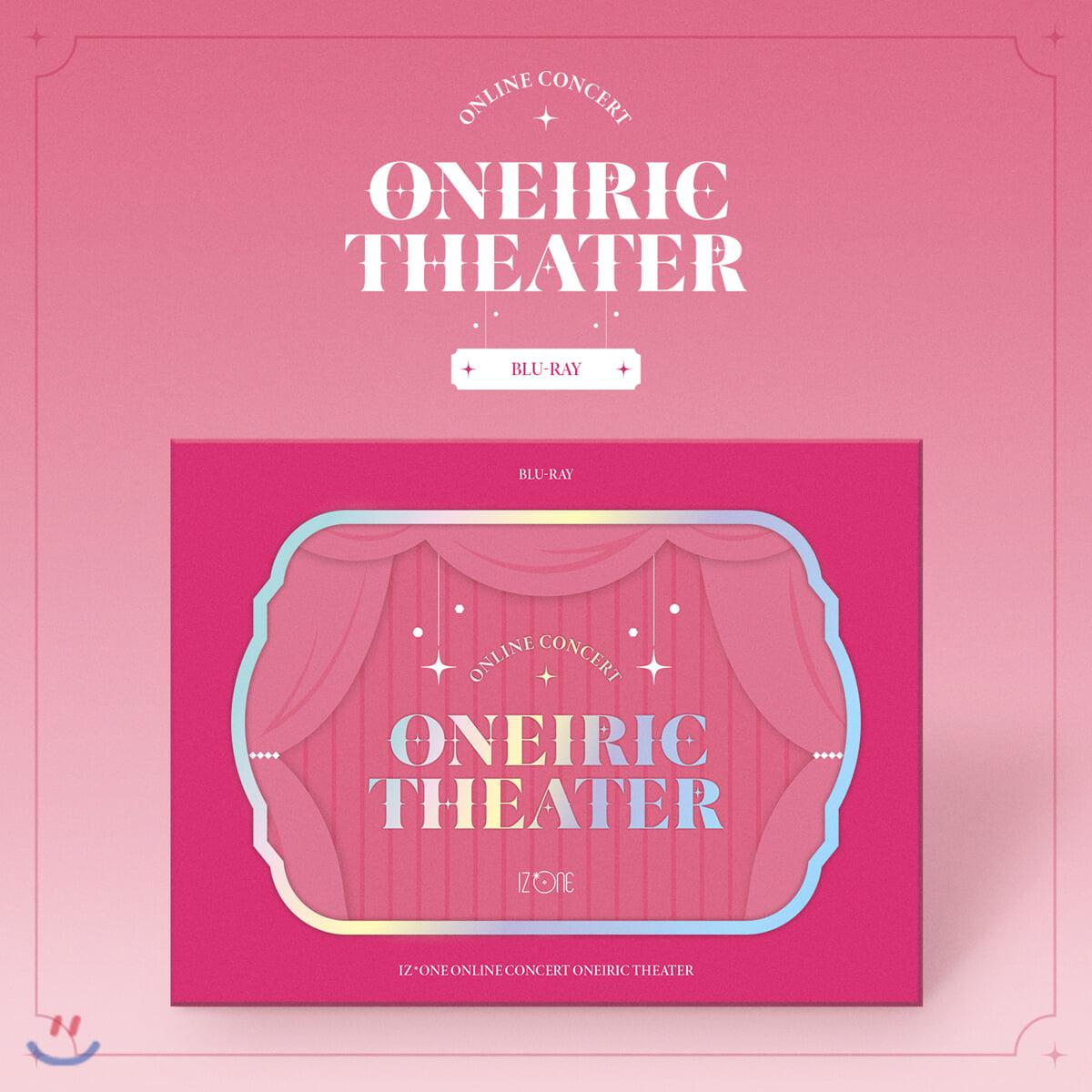 아이즈원 (IZ*ONE) - 아이즈원 ONLINE CONCERT [ONEIRIC THEATER] [Blu-ray]