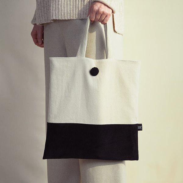 데메테르앤드 [corduroy bag] beige