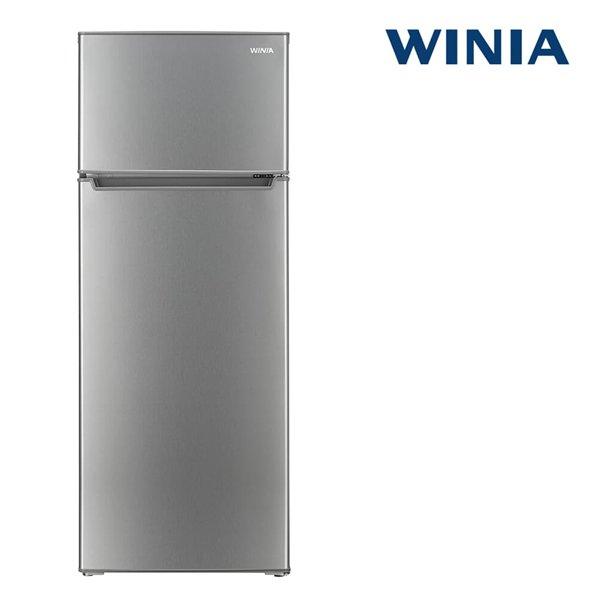 [쿠폰가: 258,000원] 인증 위니아 중형냉장고 ERT212BS 208L 메탈실버