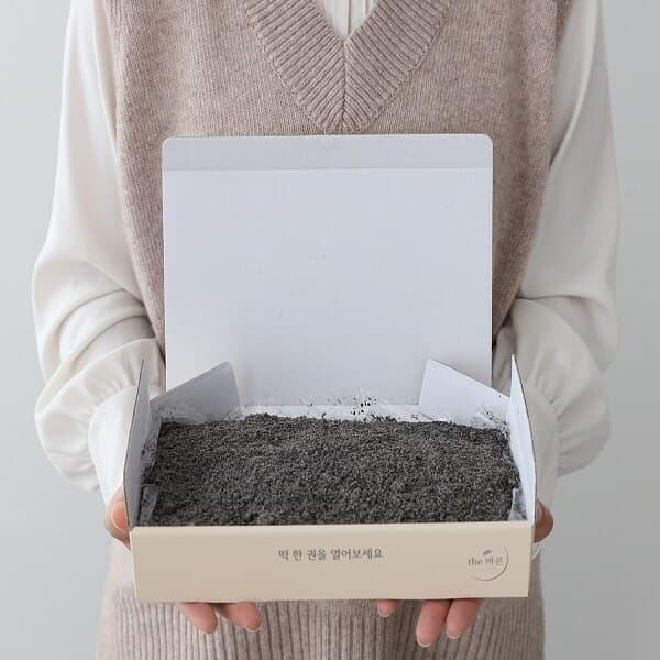 더바른 흑임자호박인절미 떡 1kg