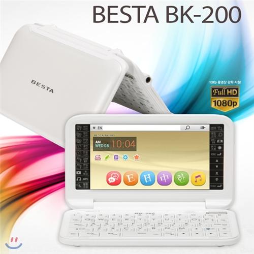 베스타 전자사전 BK-200 8GB 최강컨텐츠 학습 발음 펜터치