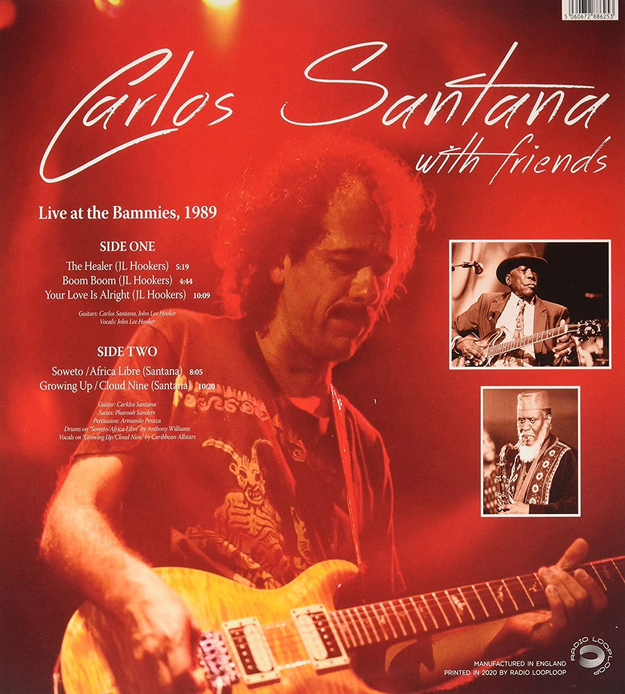Carlos Santana (카를로스 산타나) - Live At The Bammies, 1989 KFOG-FM [LP]