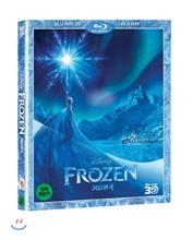 겨울왕국 (2D+3D 콤보팩)  : 블루레이