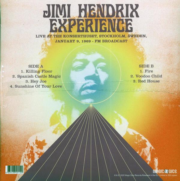 Jimi Hendrix Experience (지미헨드릭스 익스피리언스) - Live At The Konserthuset, Stockholm, Sweden, January 9, 1969 : FM Broadcast [LP]