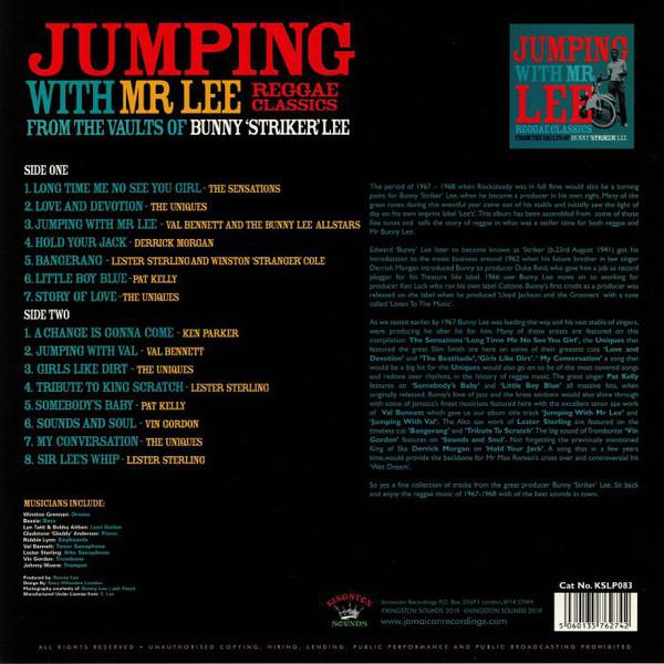 """레게 음악 모음 - 점핑 윗 미스터 리 (Jumping With Mr Lee: Reggae Classics From The Vault Of Bunny """"Striker"""" Lee) [LP]"""