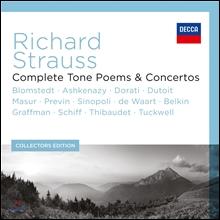 Herbert Blomstedt R.슈트라우스 : 교향시 전곡, 협주곡 (Richard Strauss: Complete Tone Poems & Concertos)
