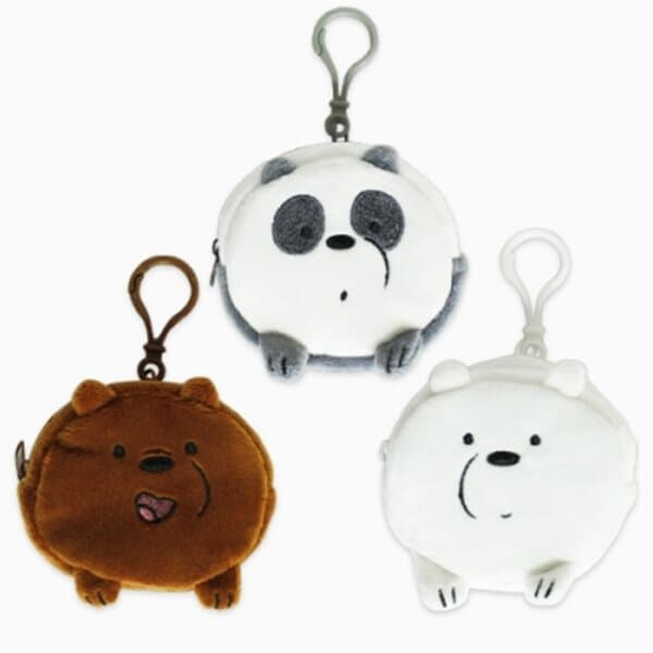 [카툰] 위베어베어스 쪼꼬미 동전지갑