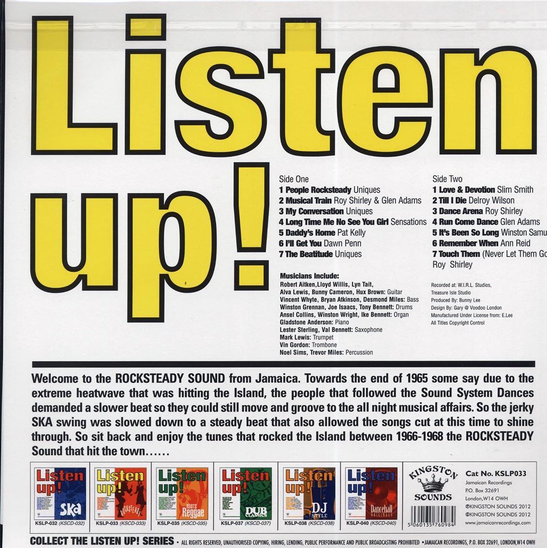 Listen Up: Rock Steady [LP]