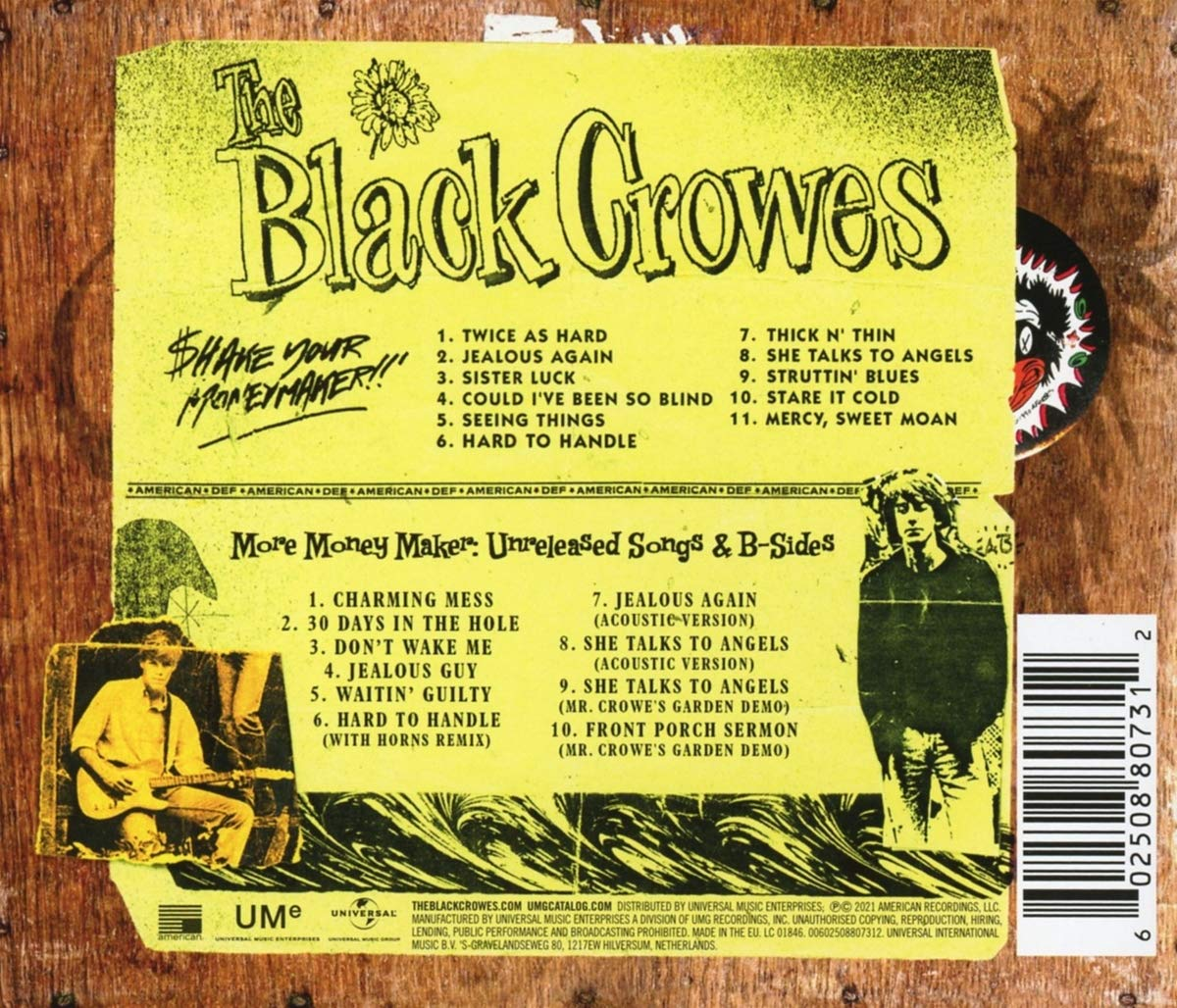 The Black Crowes (블랙 크로우즈) - Shake Your Money Maker [Deluxe]
