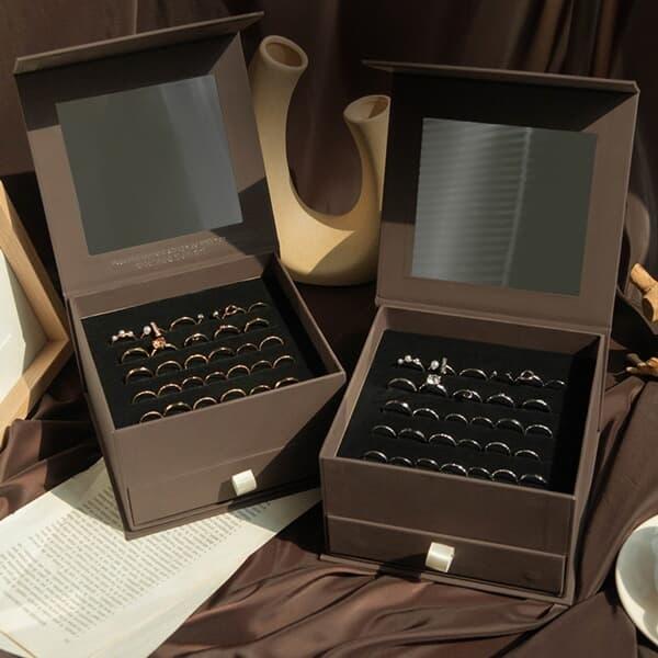 30set 심플 포인트 한달 반지 30종 세트