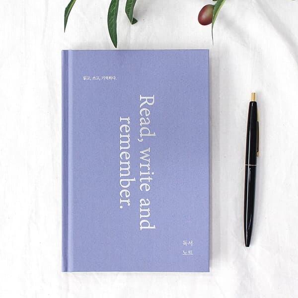 [YES24단독] 독서 노트 (문학노트,100권,양장,32절) - 퍼플