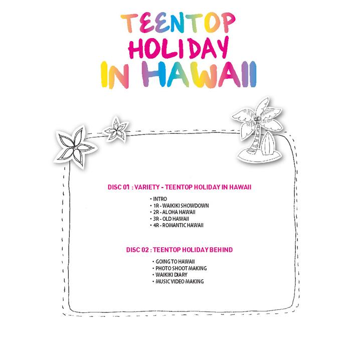 [ПРЕД-ЗАКАЗ] Teen Top in HAWAII DVD 34883366